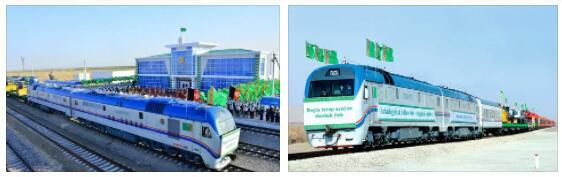 Transport within Turkmenistan