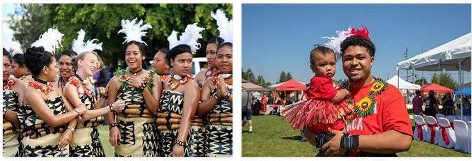 People in Tonga