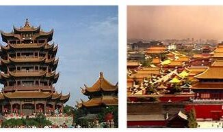 Famous buildings made in China