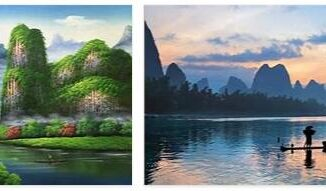 Guilin - A landscape like a painting
